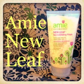 Amie New Leaf Skin Exfoliating Polish